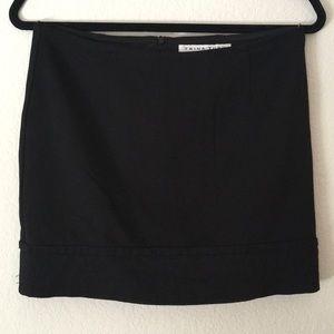 Trina Turk Black Mini Skirt